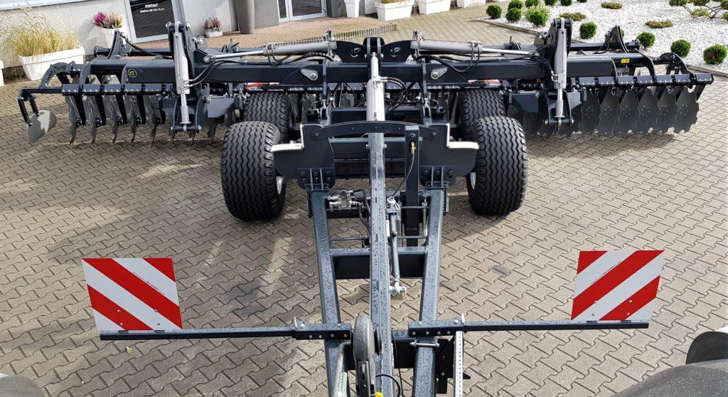 Дискова борона ATH XL з транспортною системою 7